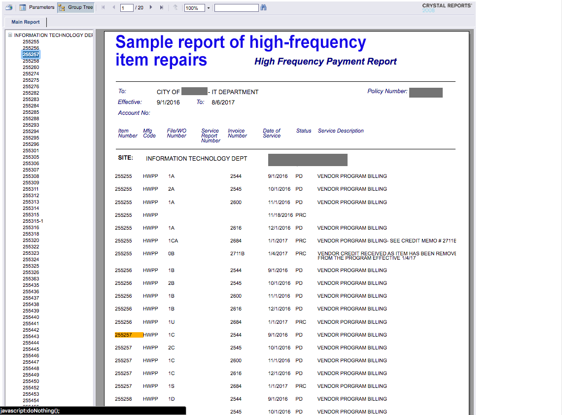 .high-frequency-payent-report